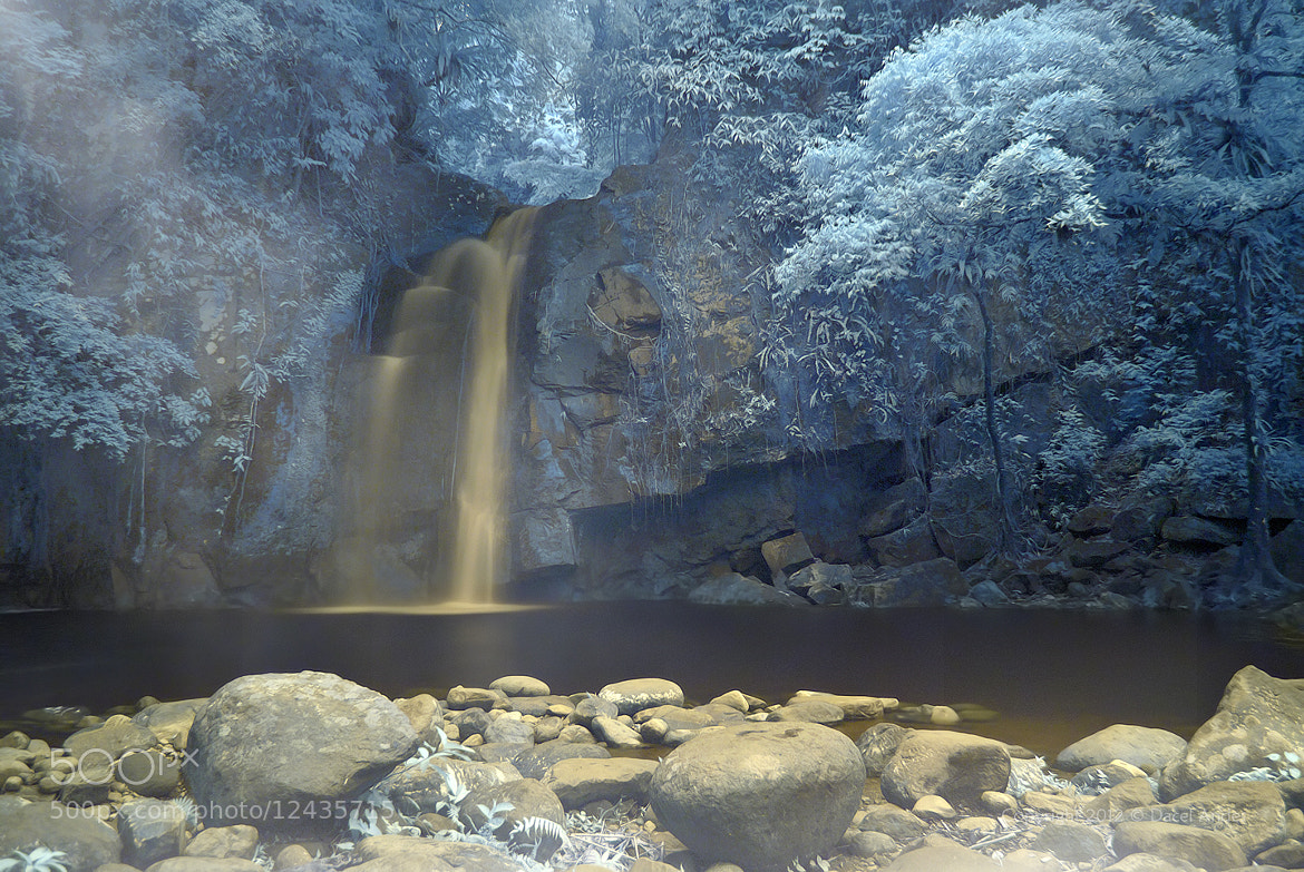 Photograph The Falls in IR by Dacel Andes on 500px