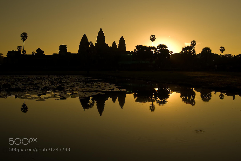 Photograph Serenity at Angkor by Ari Schwartz on 500px