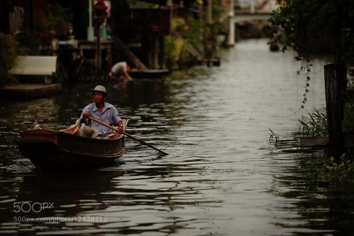 Photograph Locals Travelling by Warterway by Thongchai Rodyoi on 500px