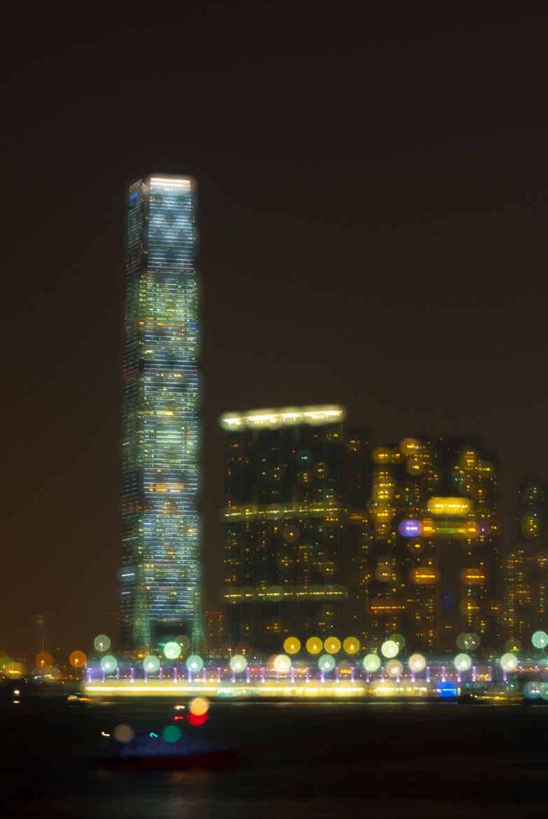 Photograph Night of West Kowloon - Hong Kong by Hei Yu on 500px