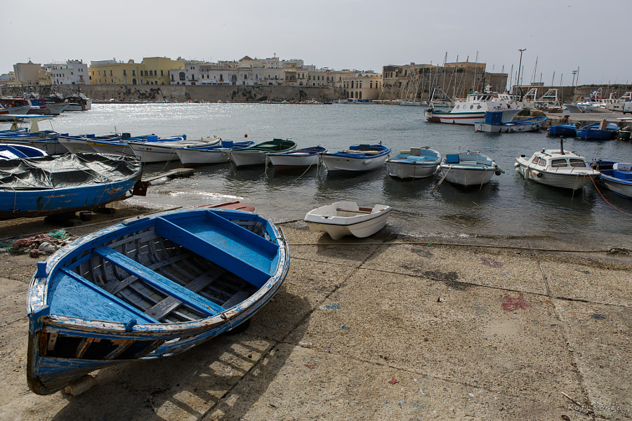 The port of Gallipoli