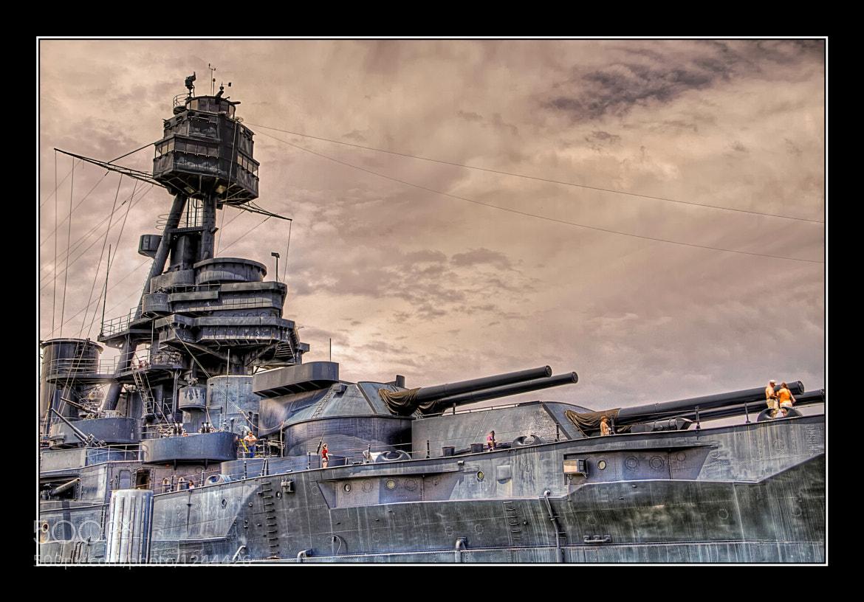 Photograph Battleship USS Texas by Ian McConnell on 500px