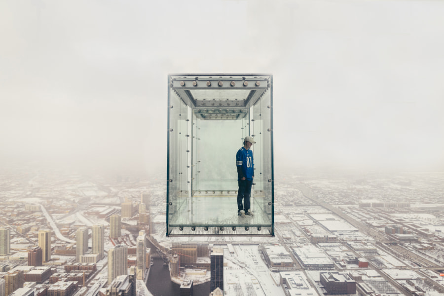 glass elevator by Sam Sklar on 500px.com