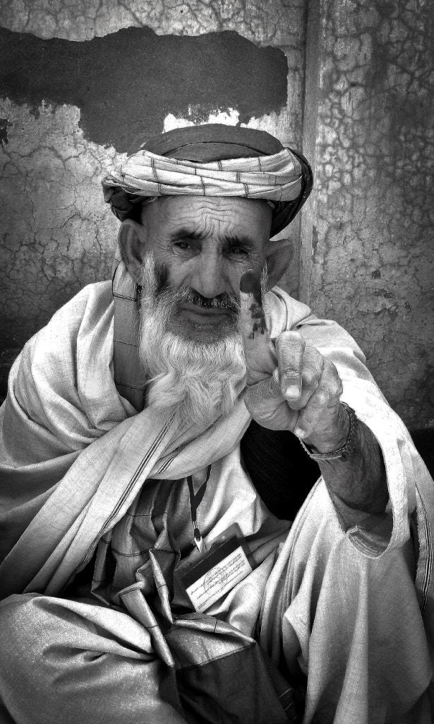 Photograph Afghanistan Vote by Poppi Robles on 500px
