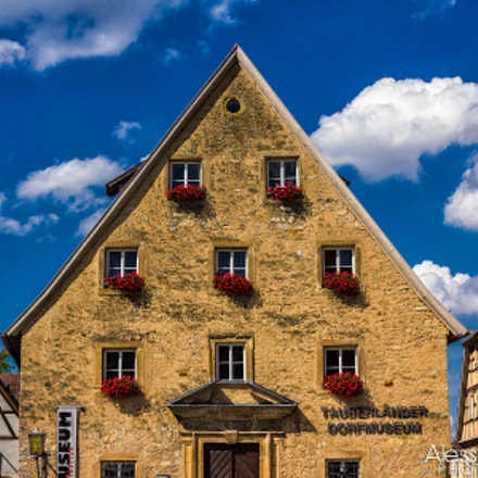 Weikersheim in full colours!