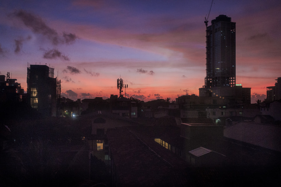 Dusk over Colombo City by Son of the Morning Light  on 500px.com