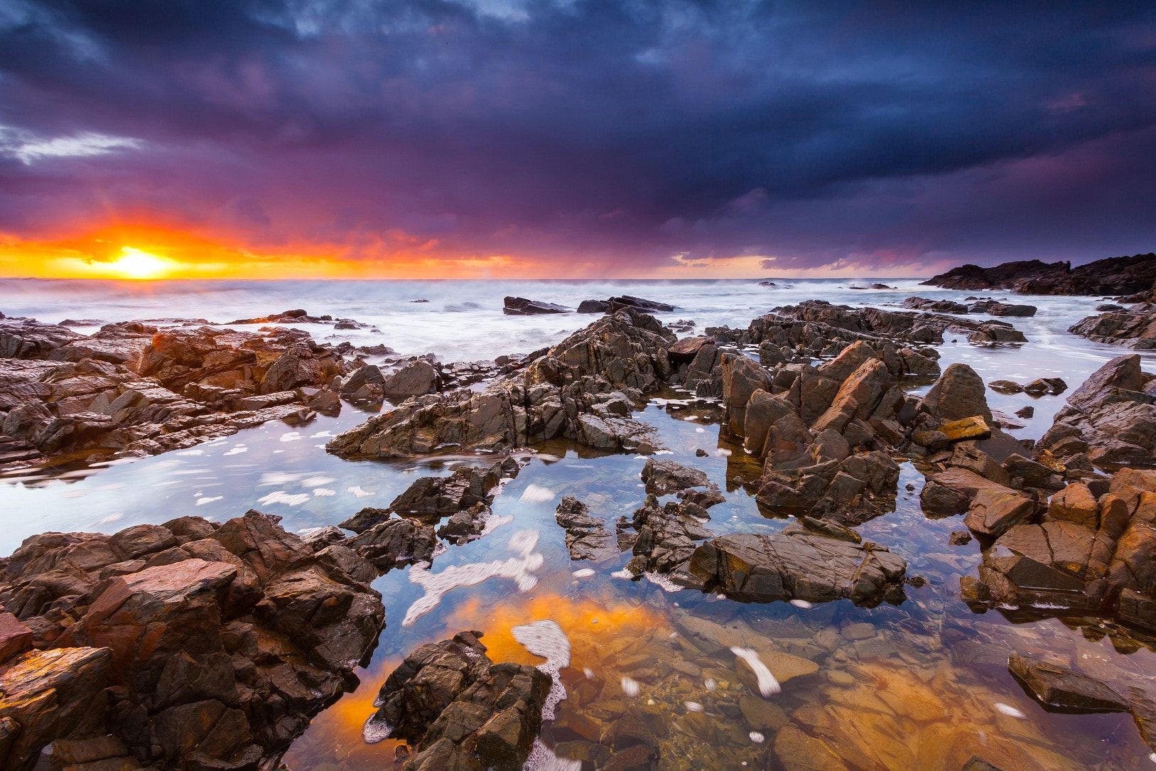 Photograph Sunrise Reflections by James McGregor on 500px