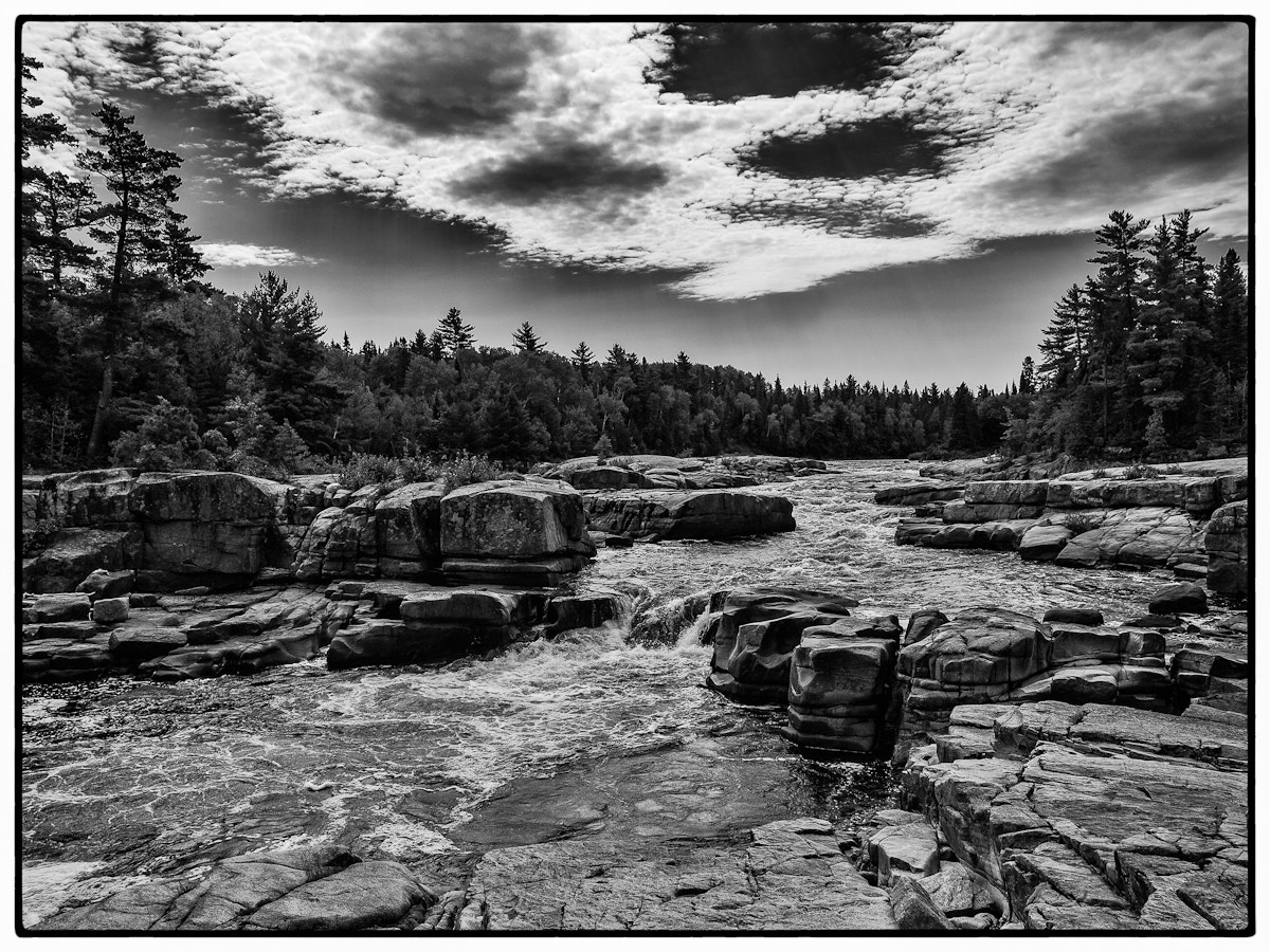 Photograph Pabineau Falls by chris white on 500px