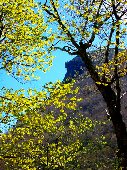 Photograph Old Man of the Mountain in Spring by Larry Landolfi on 500px