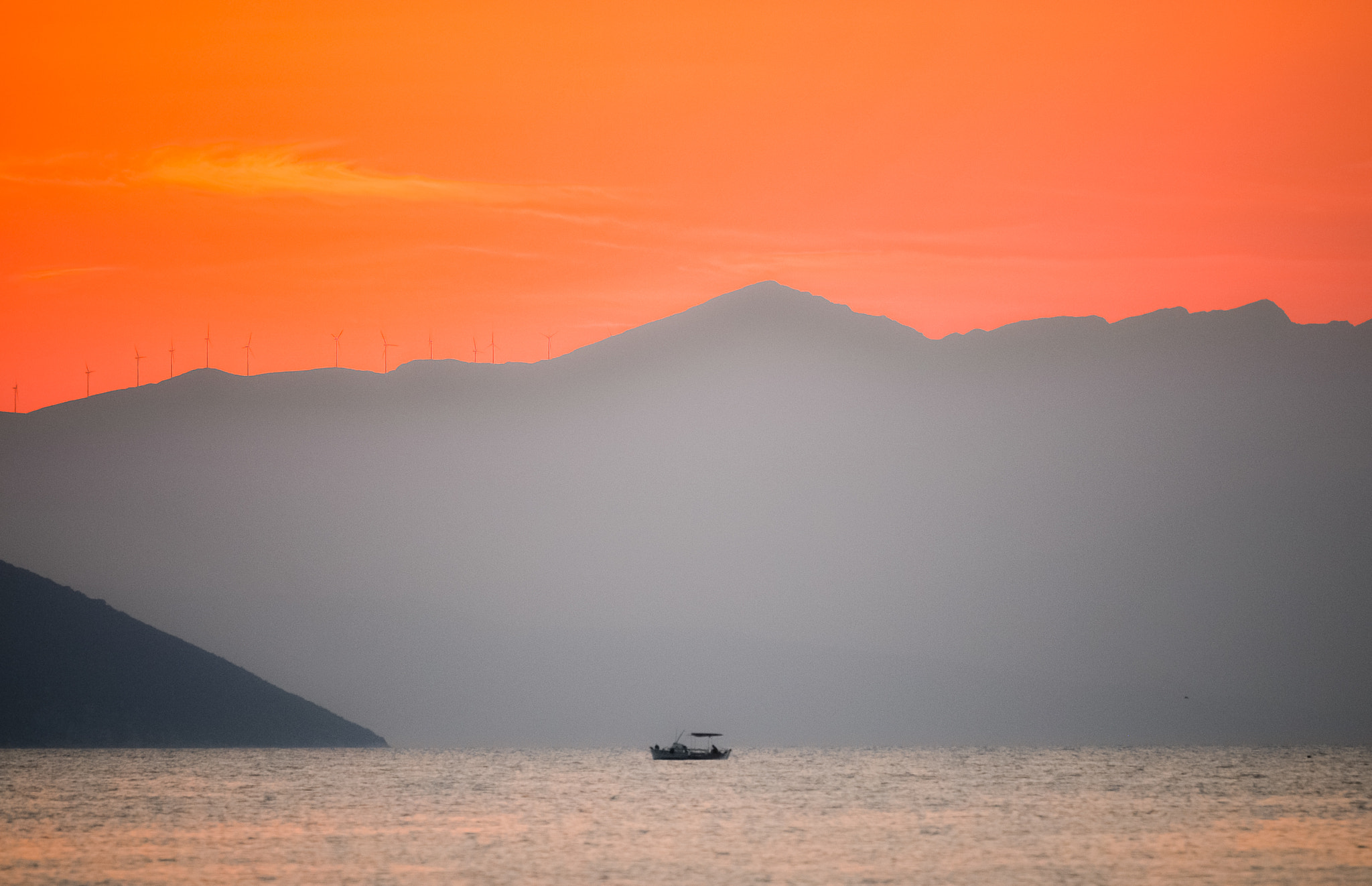 Photograph Sunset in Greece by Hector Melo A. on 500px