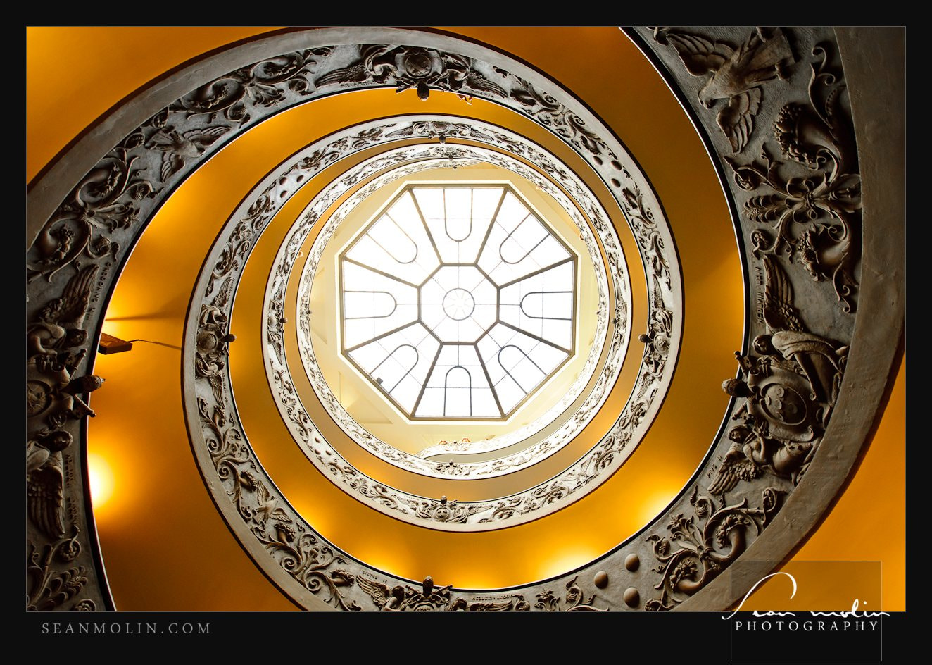 Photograph Vatican Spiral Up by Sean Molin on 500px