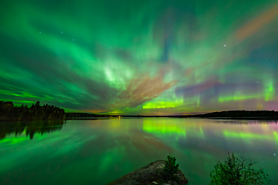 Green Night by Sami Multasuo on 500px.com