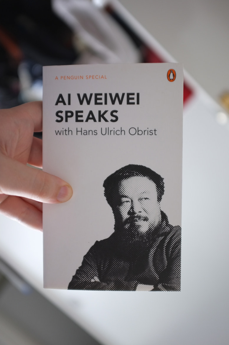 Photograph Ai Wei Wei Speaks by Hans Ulrich Obrist by Alan Trotter on 500px