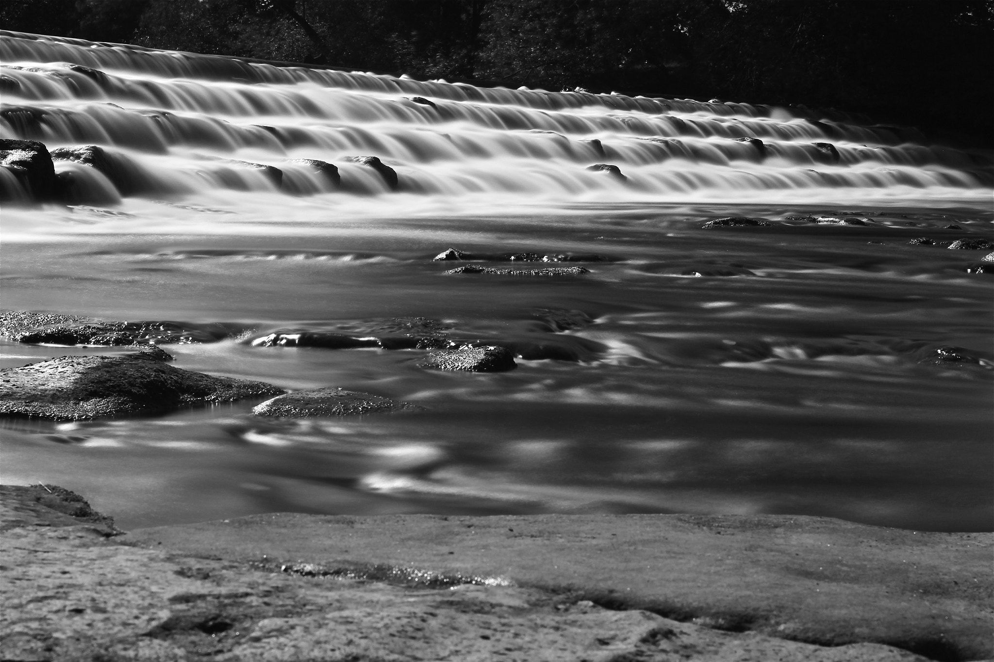 Photograph River Weir by Tom Forbes on 500px