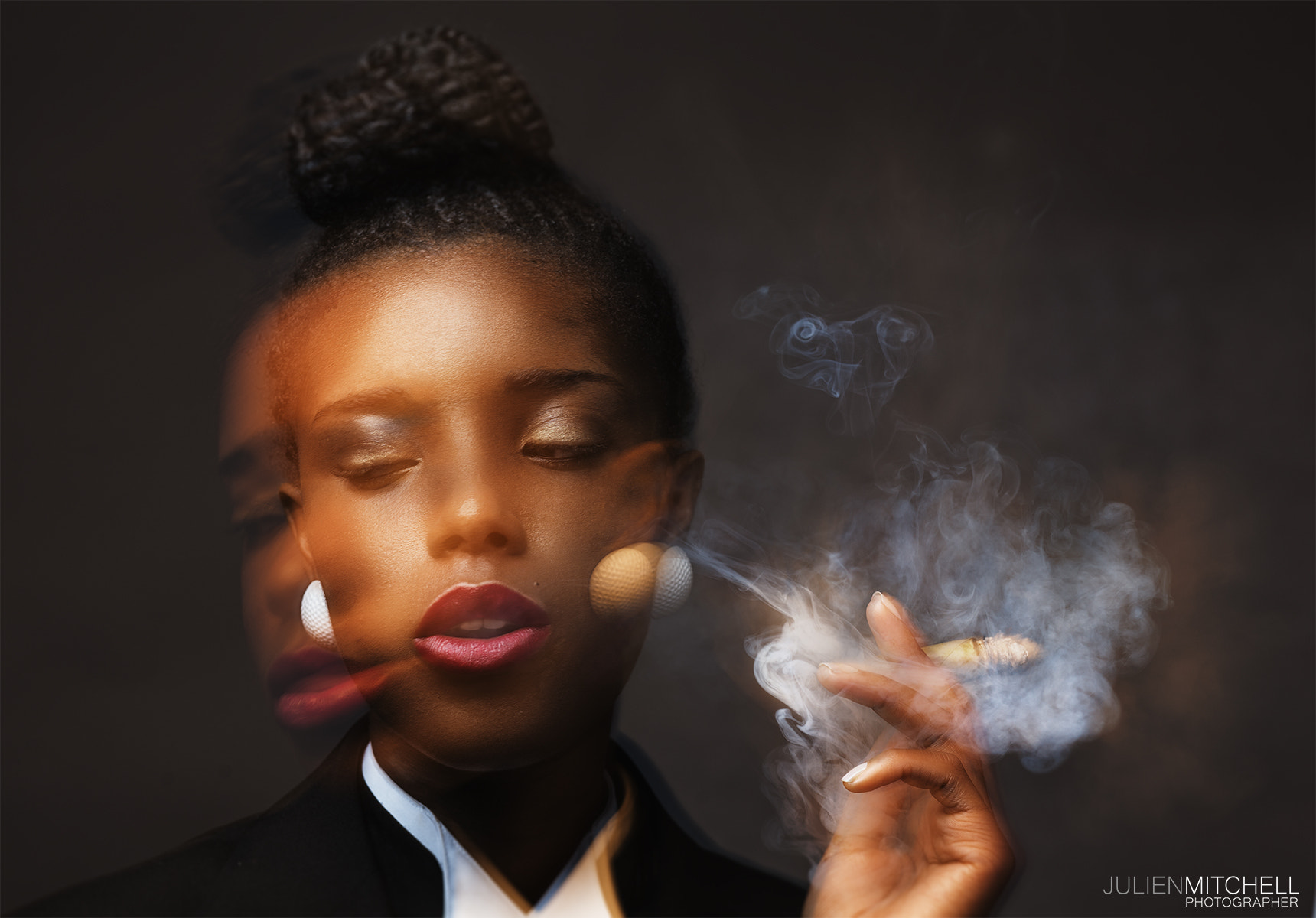 Photograph Tamara Smoking, by KREATIVE DOC on 500px
