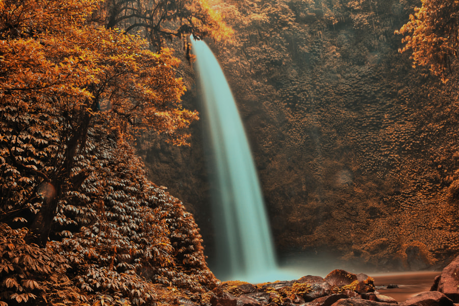 Gitgit Waterfall by hsinkui ho on 500px.com