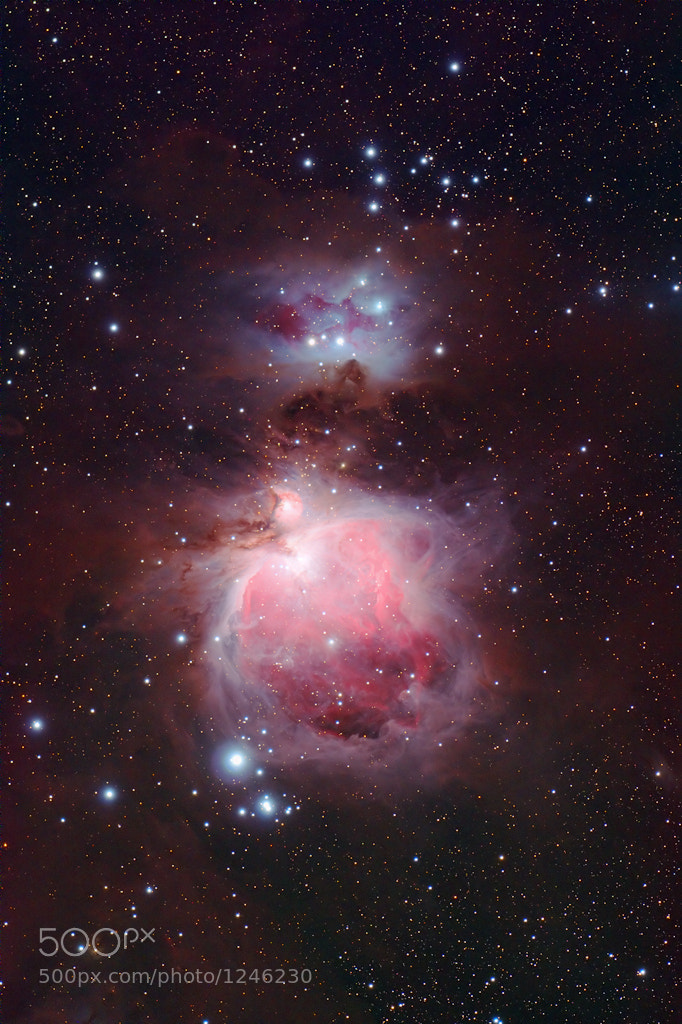 Photograph Sword of Orion by Levin Dieterle on 500px