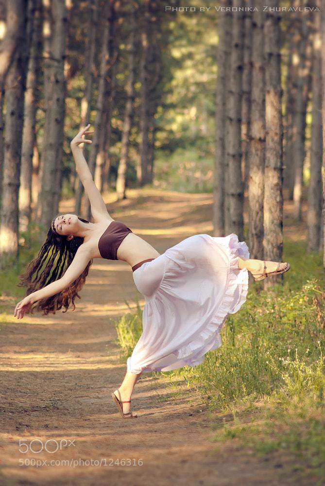 Photograph Dancing.. by Veronika Zhuravleva on 500px
