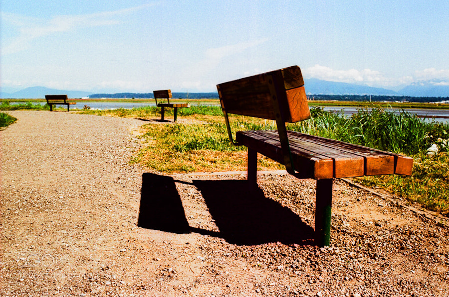 Photograph crossed bench by Chris Yakimov on 500px