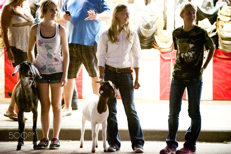 Photograph Girls and Goats, Minnesota State Fair by Josh Rubin on 500px