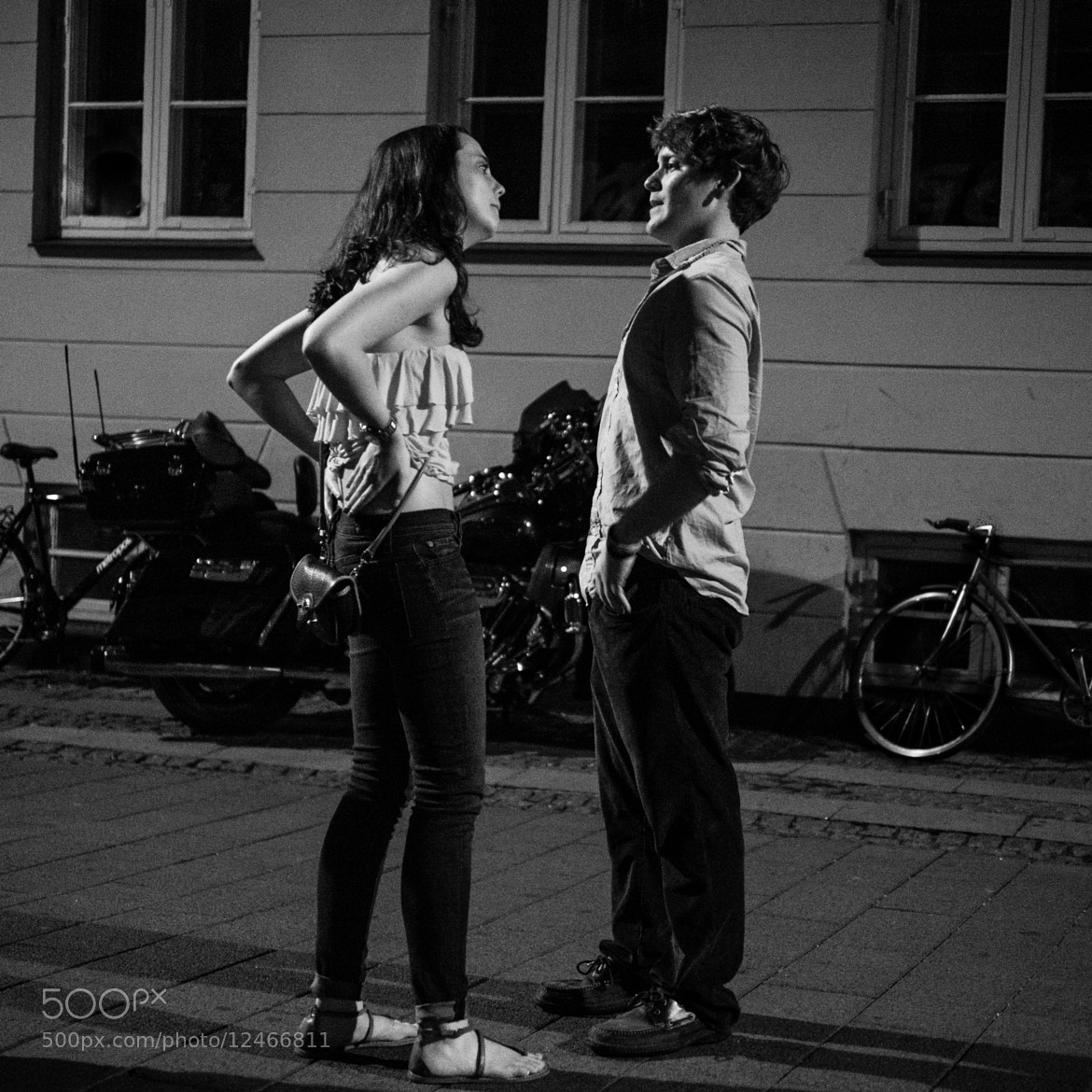 Photograph Body language - what's the story? by Claus Tom Christensen on 500px
