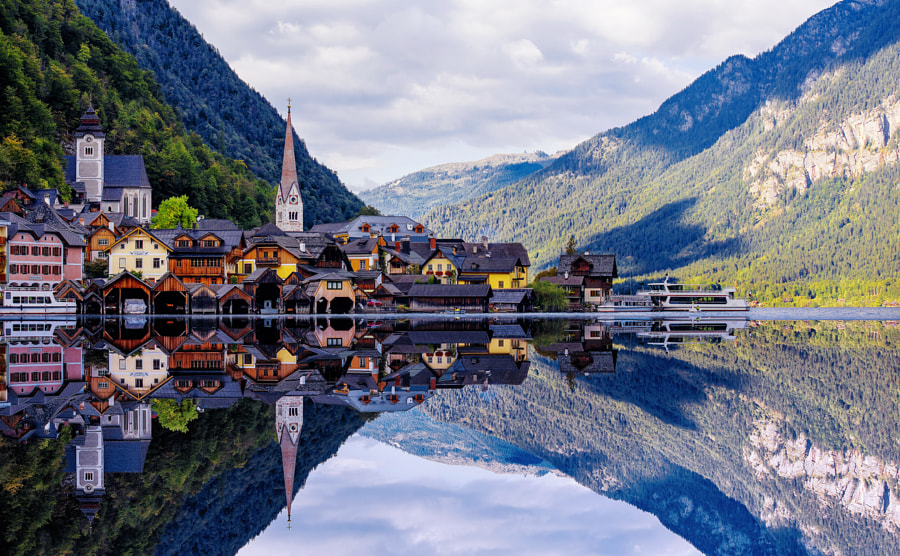 In paradise_Hallstatt  II by Herison Black on 500px.com