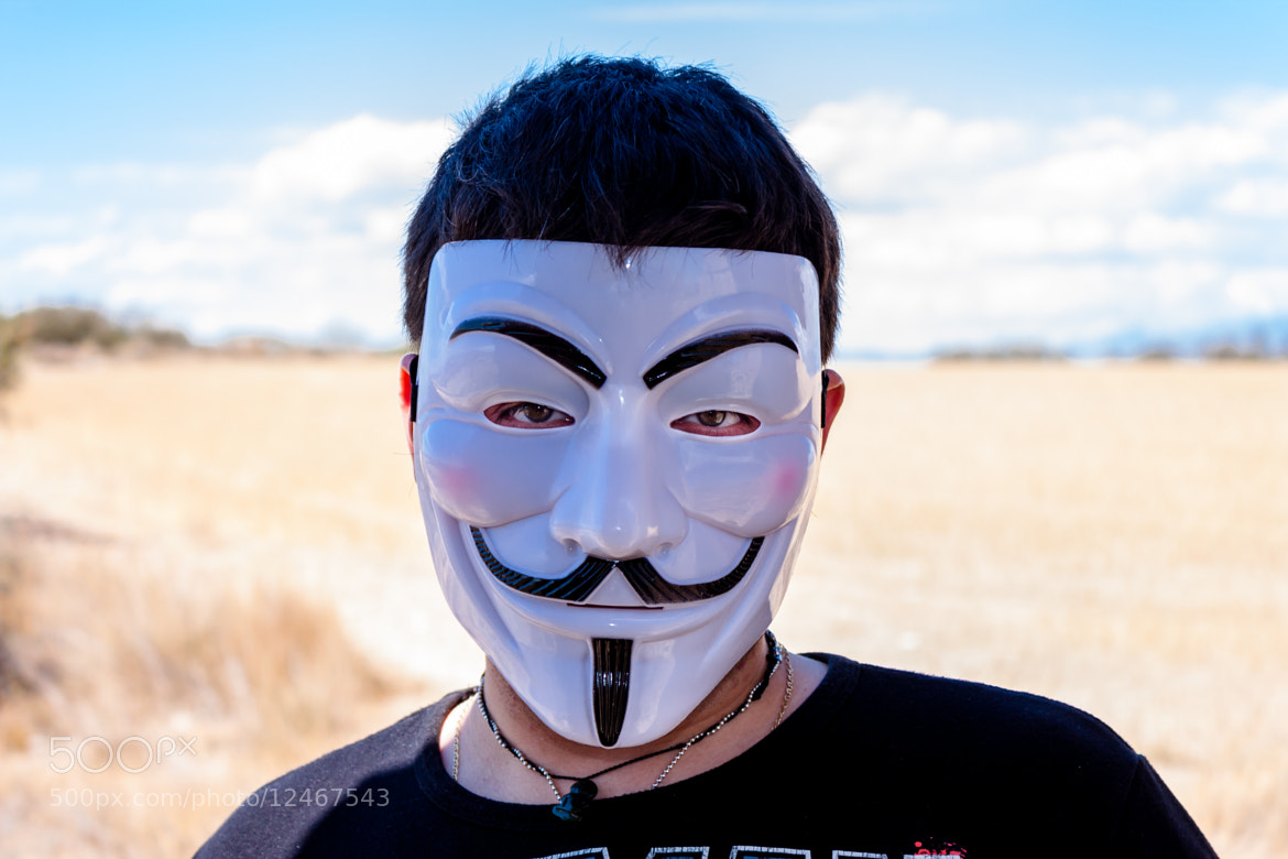 Photograph V for Vendetta by Gerard Inglés Camats on 500px