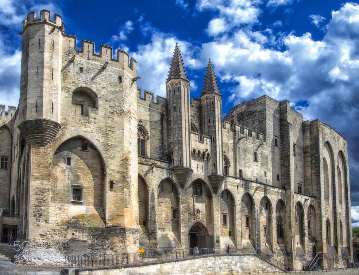 Photograph Avignon - The Popes' palace HDR by Claudio Cavalensi on 500px