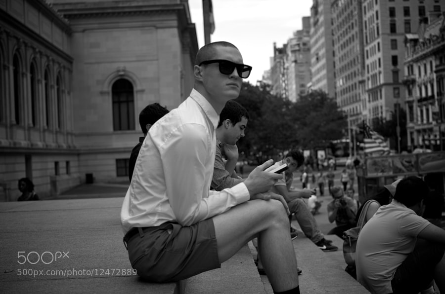 Photograph New York Hipster by Nicolas Zielinski on 500px