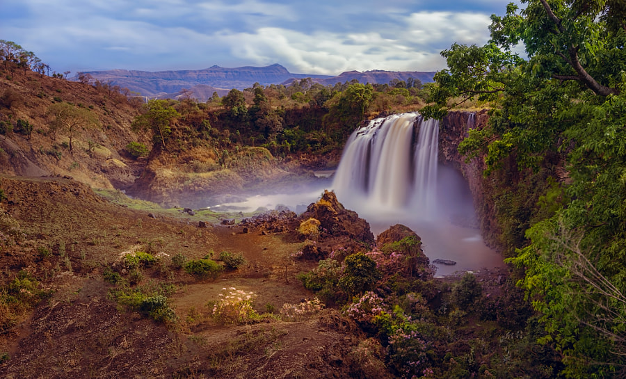 Nile Falls Ethiopia by Csilla Zelko on 500px.com