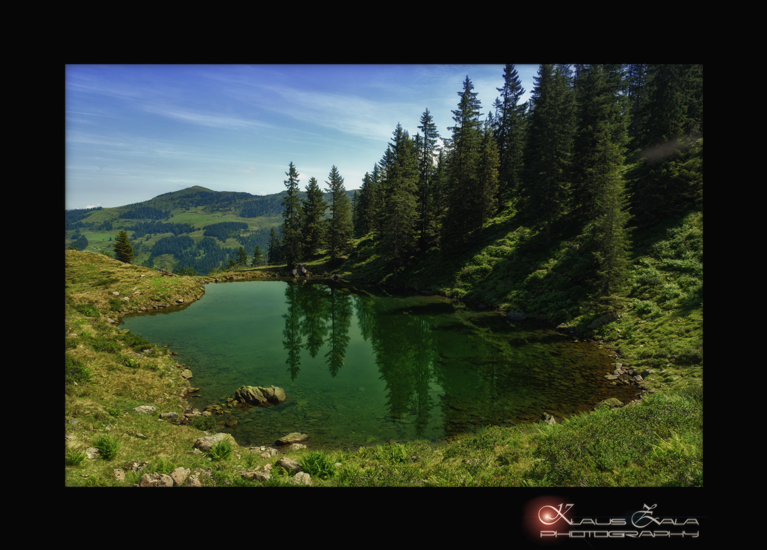 Photograph ... emerald pond ... by klausZ - Photography on 500px