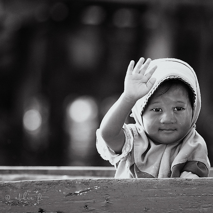 Photograph Say Hi by Noor Abdillah on 500px