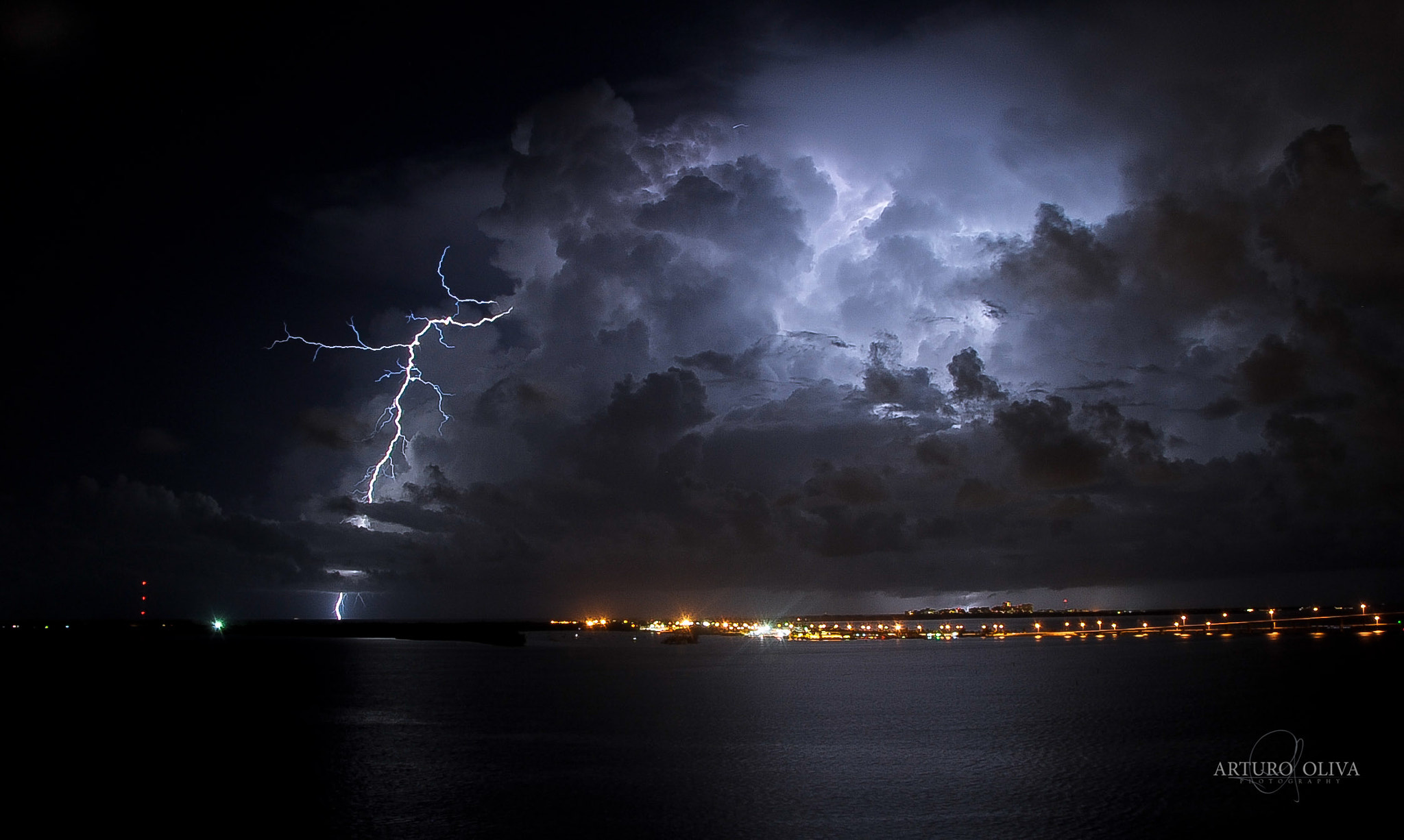 Photograph Miami storm by Arturo Oliva on 500px