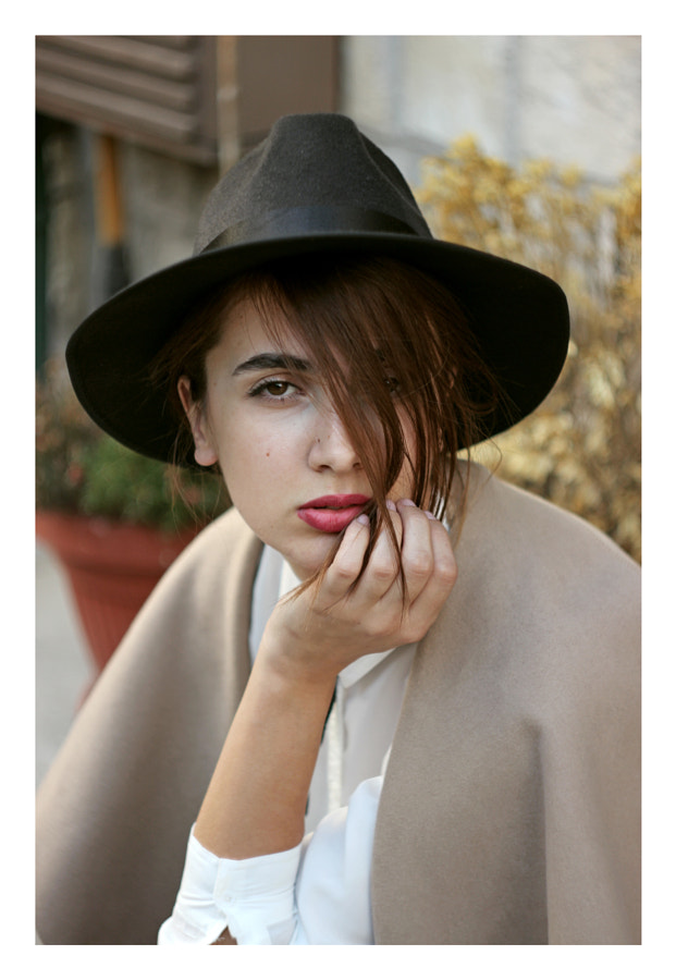 Girl with hat by Hamza Kulenovic on 500px.com