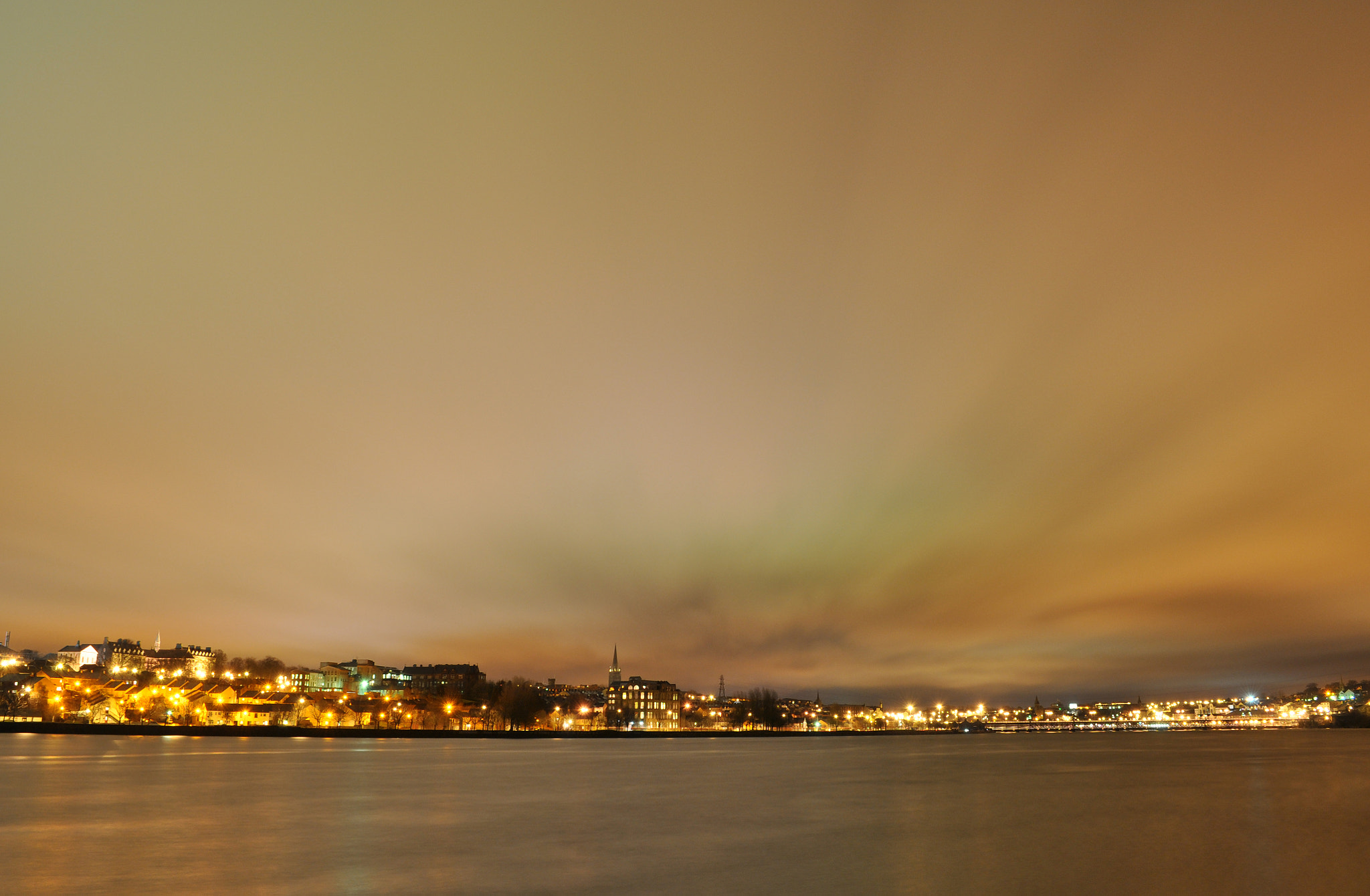 Photograph Derry City At Night by Eddie Maxwell on 500px