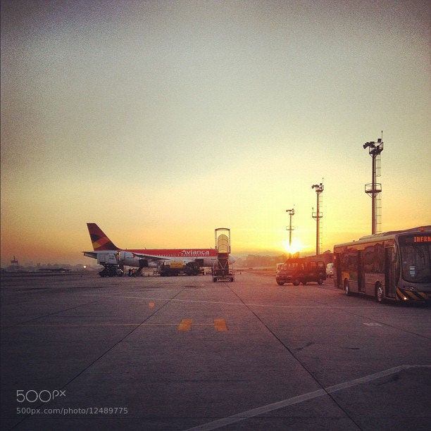 Photograph Congonhas airport by Felipe Bachian on 500px