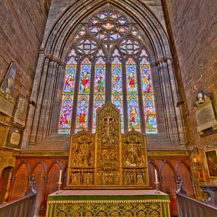 Carlisle Cathedral St Wilfrid's Chapel