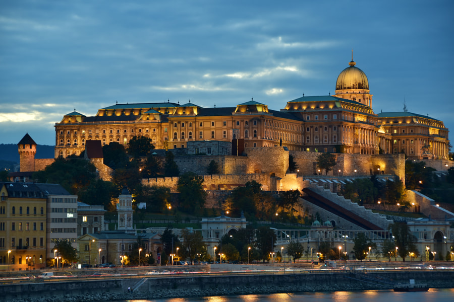 Buda Castle by Maxim Predtechenskiy on 500px.com