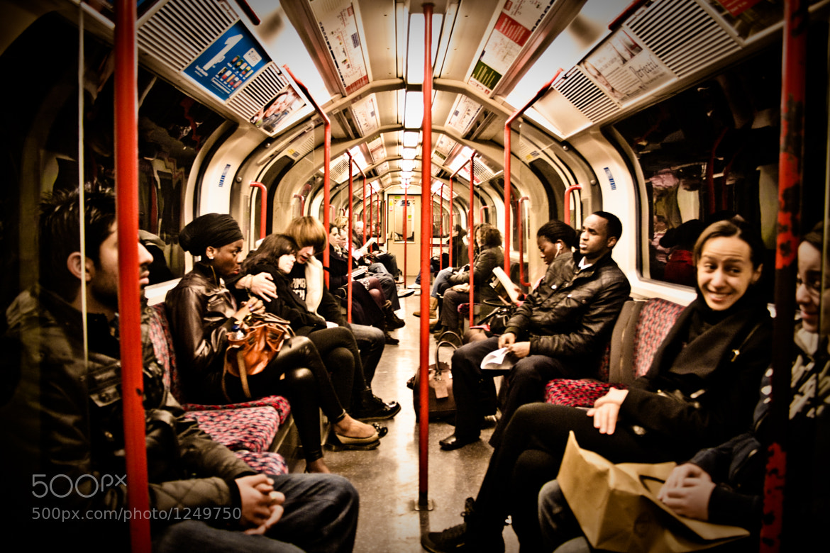 Photograph Riding the Tube by Garry Knight on 500px