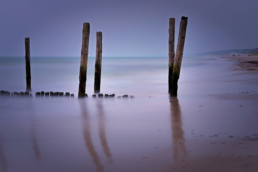 Photograph NIGHT AT THE BALTIC SEA by TOMÁŠ MORKES on 500px