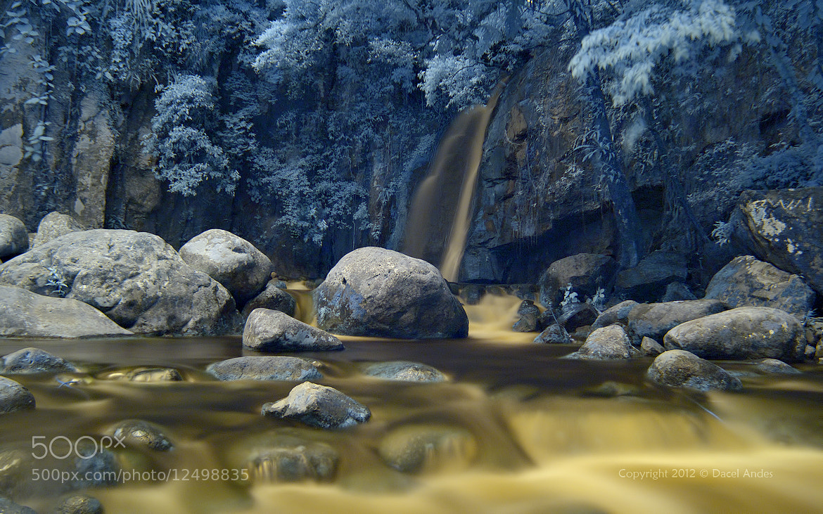 Photograph The Falls in IR II by Dacel Andes on 500px