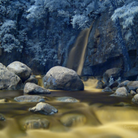 The Falls in IR II by Dacel Andes (DacelAndes)) on 500px.com