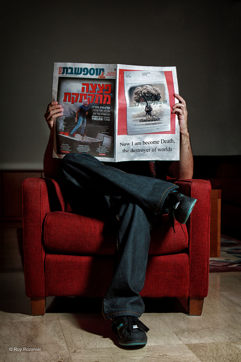 Photograph I read the news today OH, BOY by Roy Rozanski on 500px