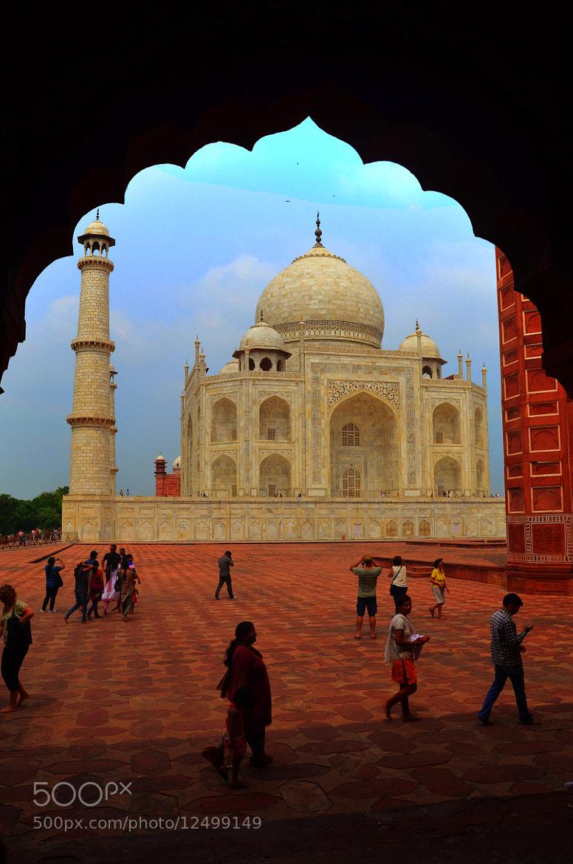 Photograph The Taj(2) by Palash K on 500px