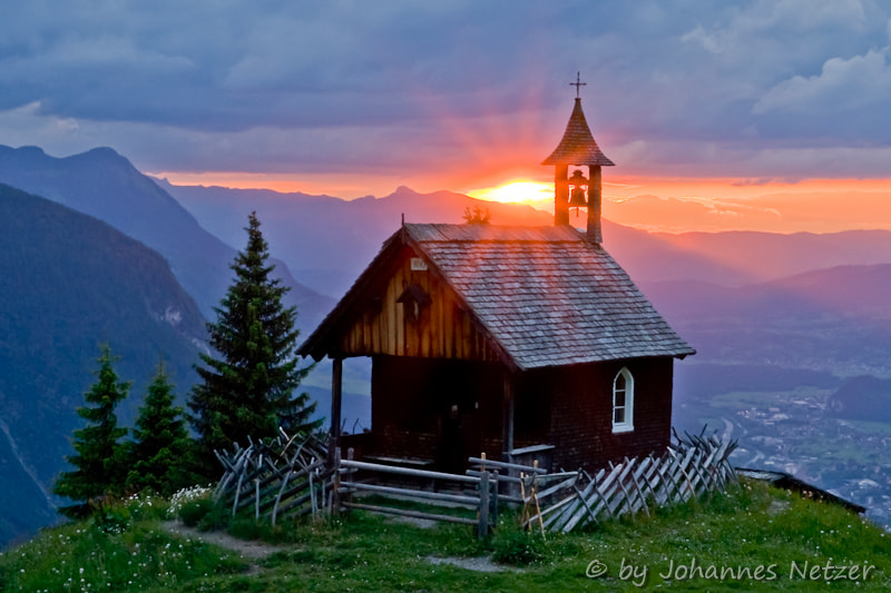 Photograph Sunrise at the Alps by Johannes Netzer on 500px