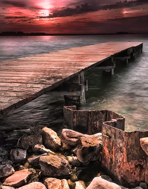Photograph walking the plank by Patrick Strik on 500px