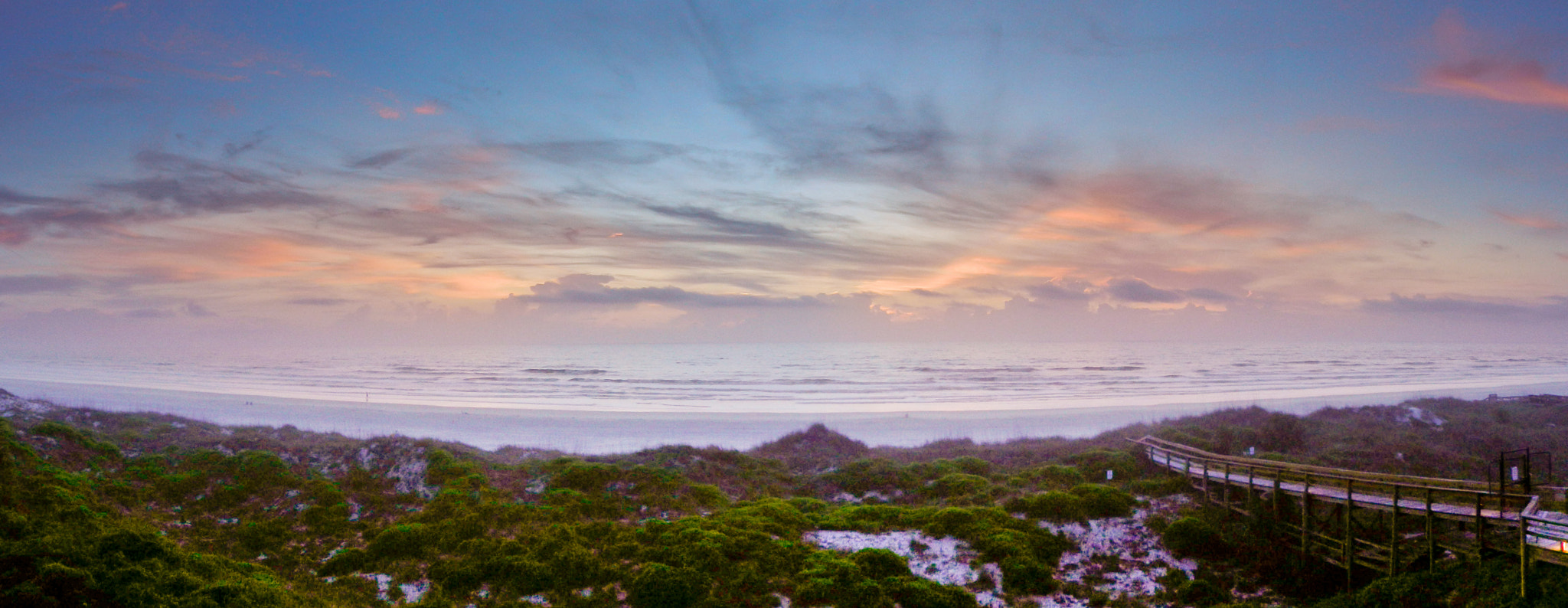Photograph Crescent Beach Sunrise Panorama by Stephen Ingraham on 500px