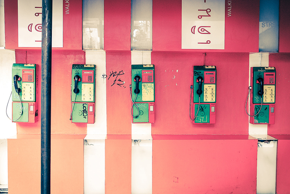 Photograph Payphone by Nutz Zaichu on 500px