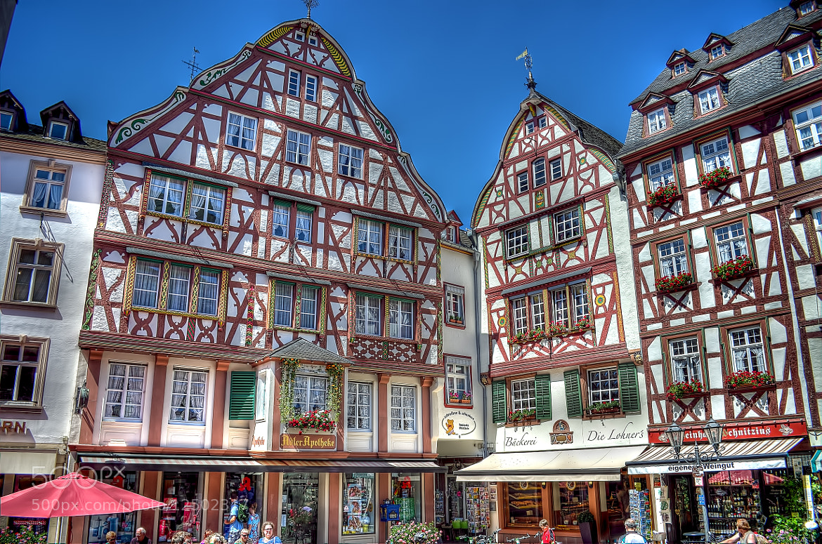 Photograph Timbered houses, Bernkastel, Germany by Ton   lع Jeune on 500px