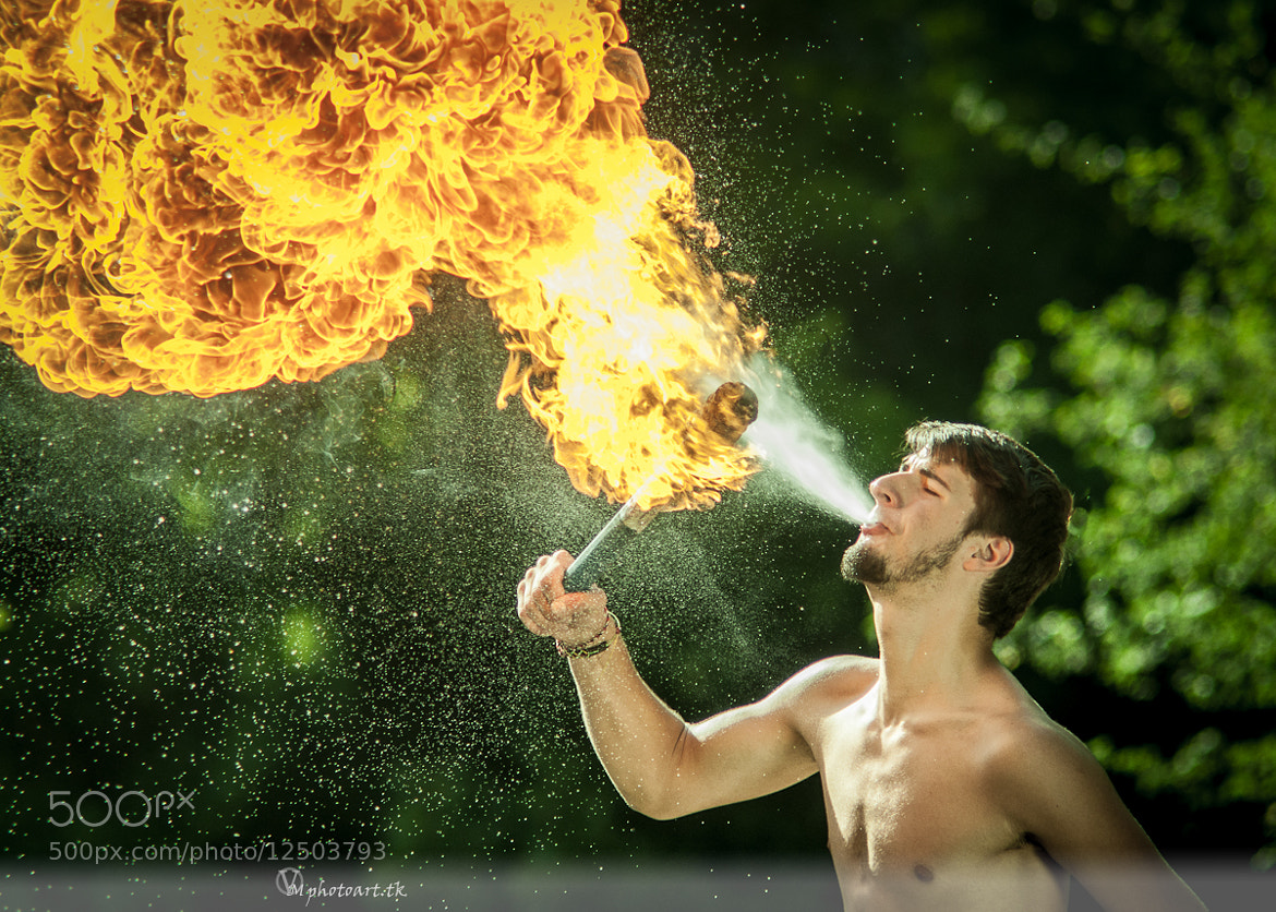 Photograph Spit fire by Vlad Moldovean on 500px